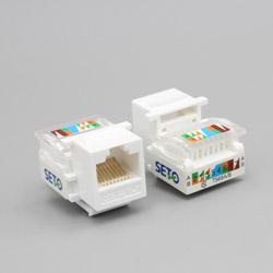 免打线短款网络  电脑网线模块 8005-2